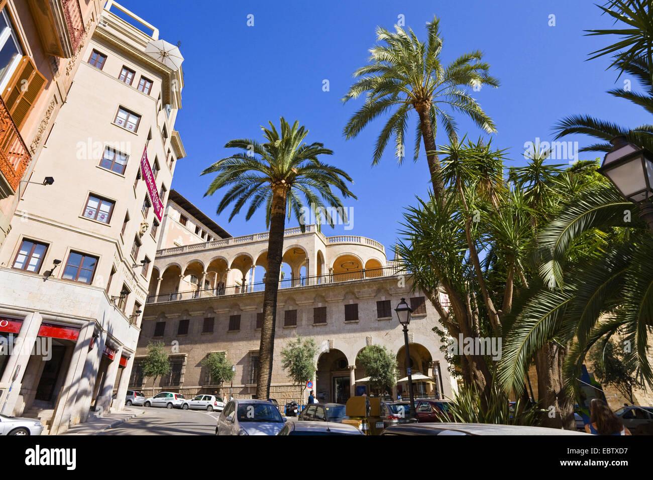 Palau March, Spain, Balearen, Majorca, Palma - Stock Image