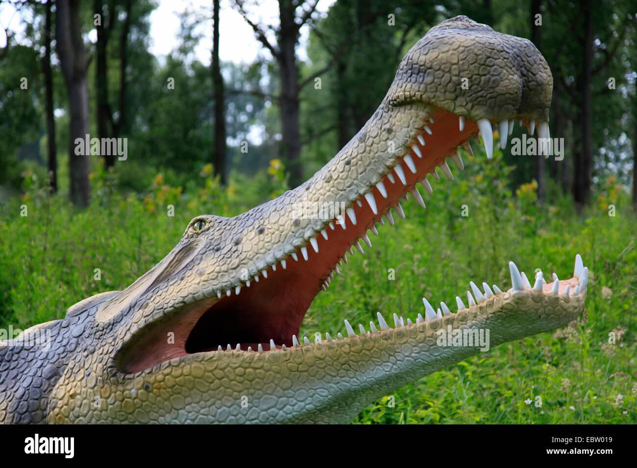 Homemade Coffee Table Supercroc Sarcosuchus Imperator Largest Crocodile Like