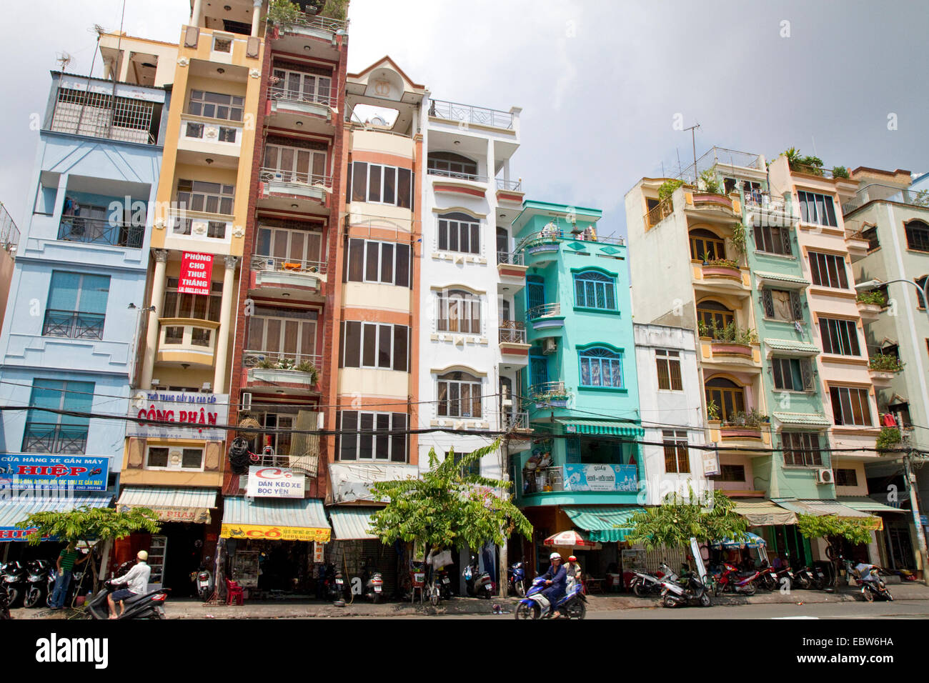 Housing In Vietnam High Resolution Stock Photography And Images Alamy