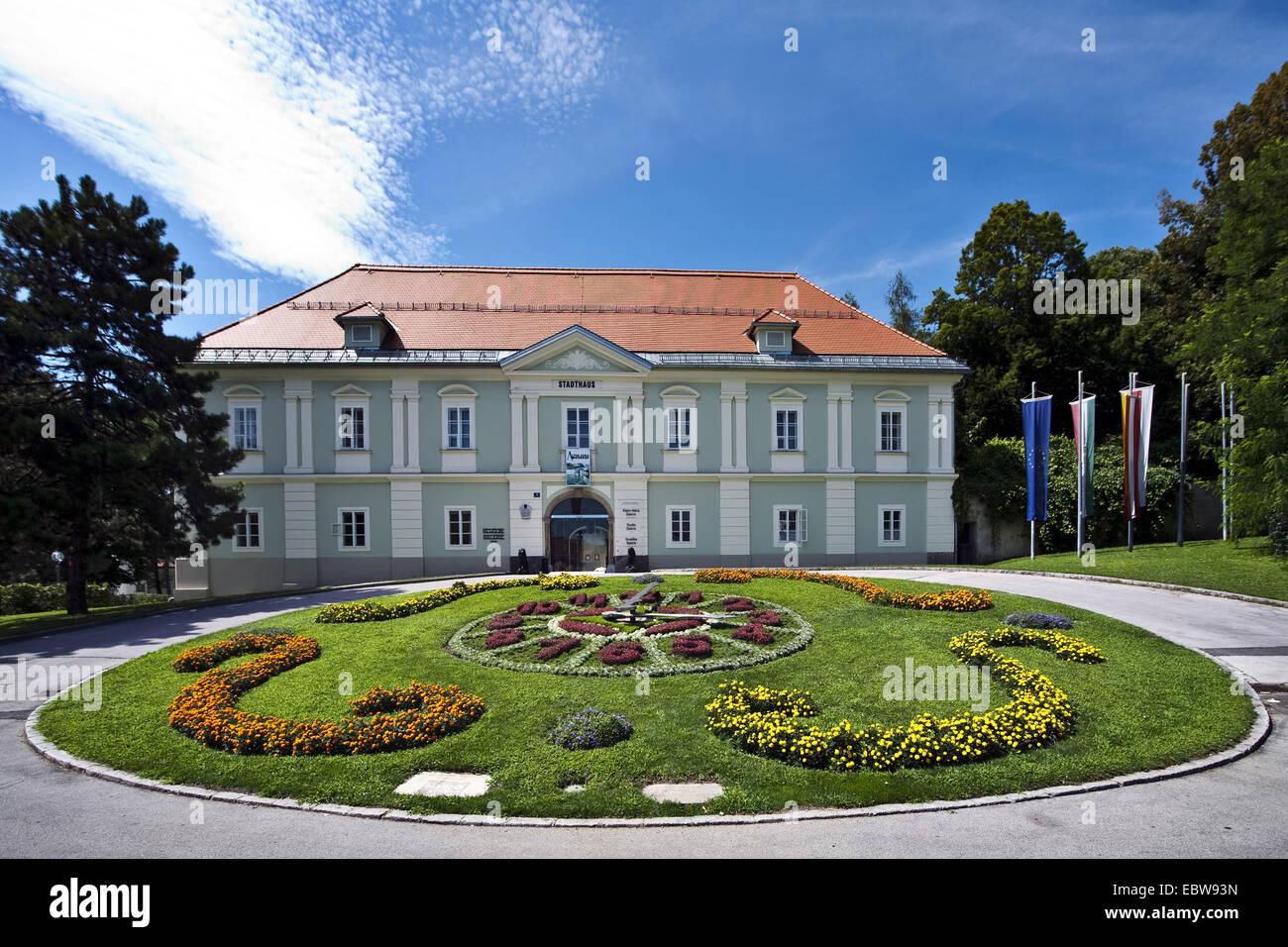 townhouse, Austria, Carinthia, Klagenfurt - Stock Image