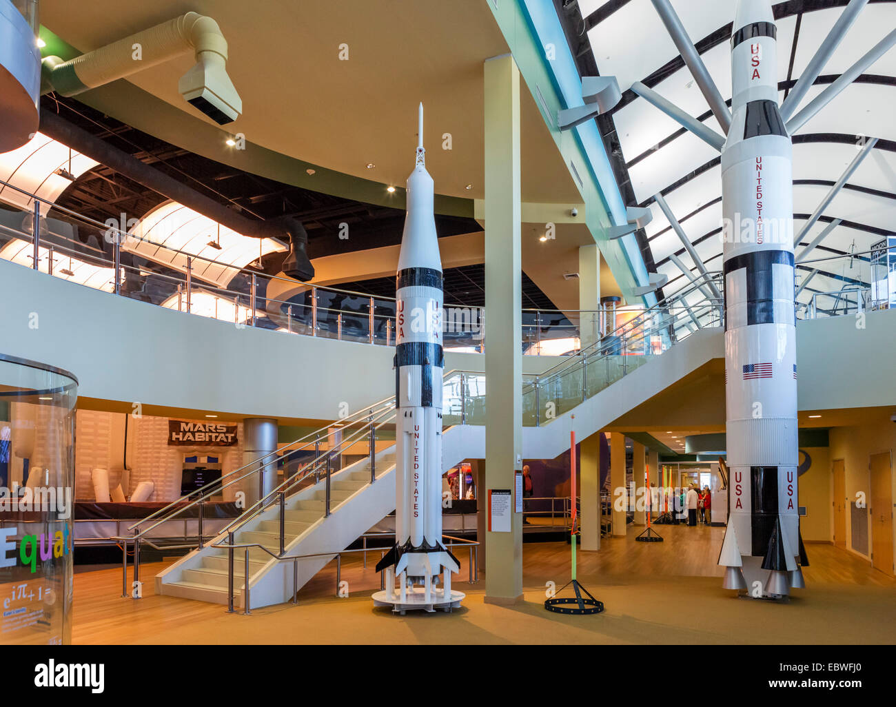 The Infinity Science Center at the John C Stennis Space Center, Hancock County, Mississippi, USA - Stock Image