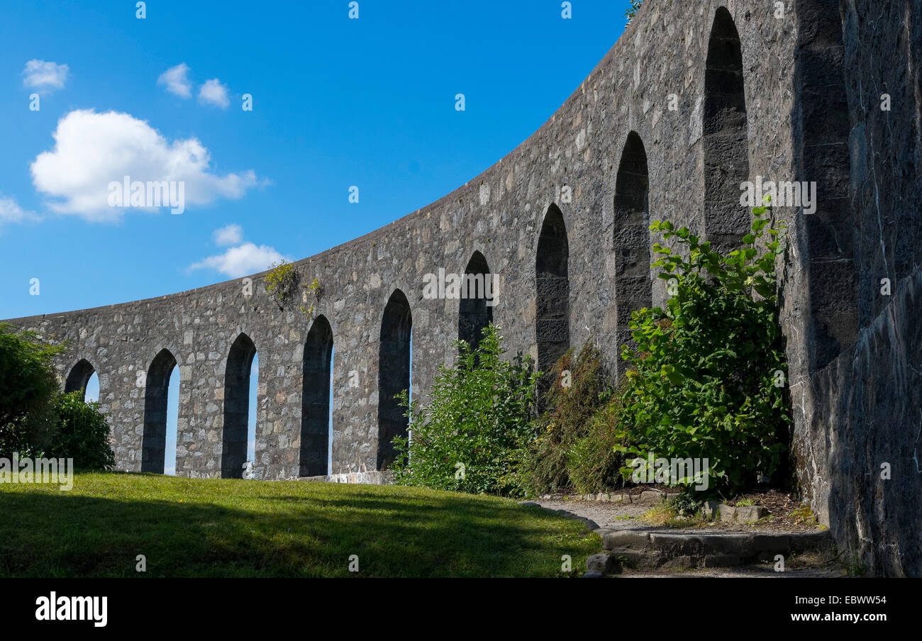 McCaig's Tower in Oban, Scotland, United Kingdom - Stock Image
