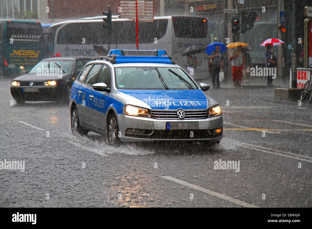 german police car stock photos german police car stock images alamy. Black Bedroom Furniture Sets. Home Design Ideas