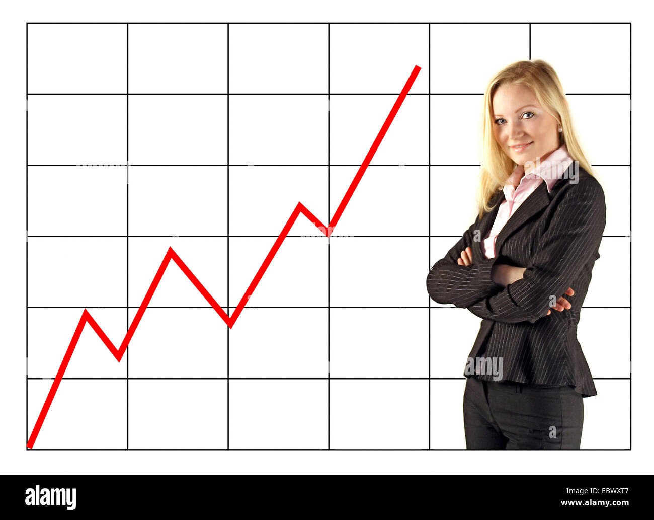 Successful young  entrepreneur - Stock Image