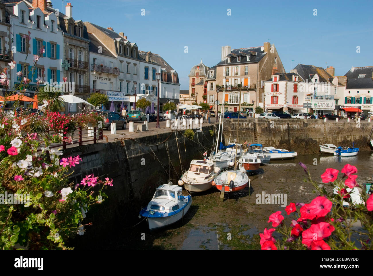 port of Le Croisic, France, Brittany, Le Croisic Stock Photo