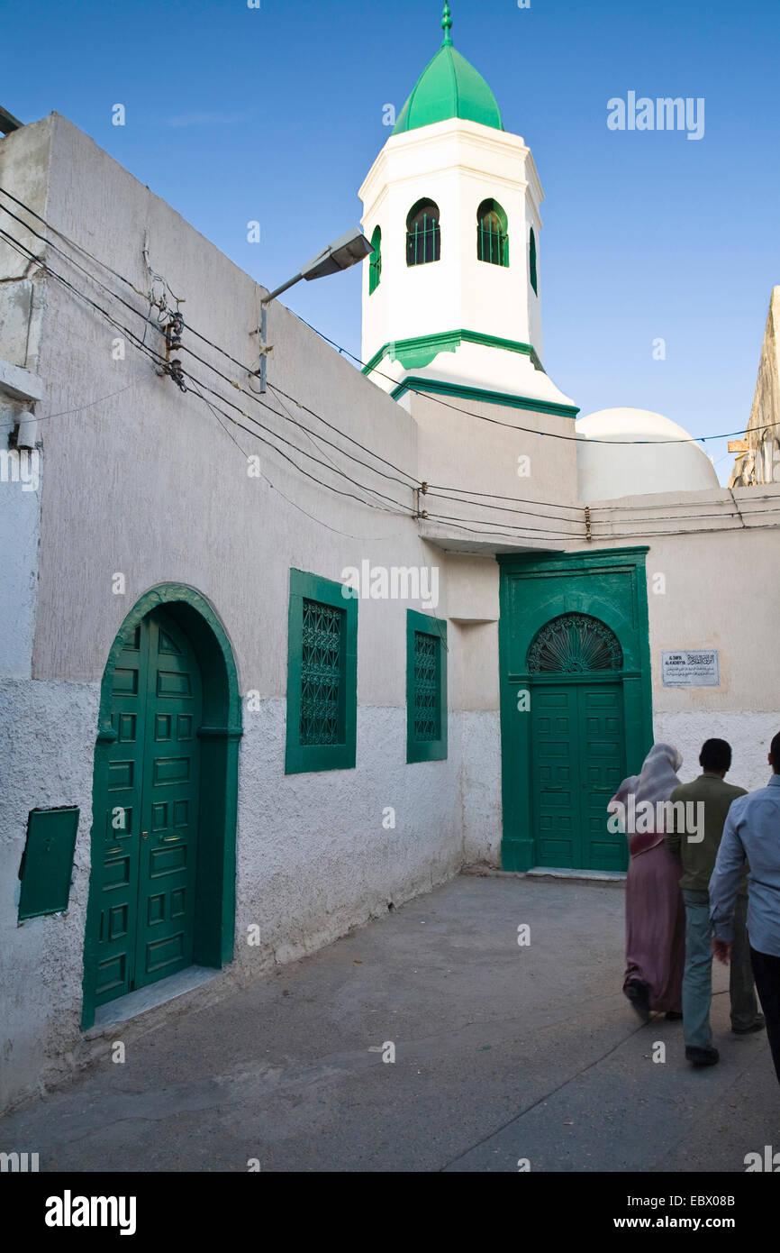 Naga Mosque, Sufi school at the Medina (old town), Libya, Tripolis - Stock Image