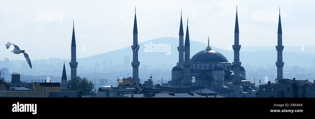 Blue Mosque in Istanbul, Turkey, Istanbul Stock Photo