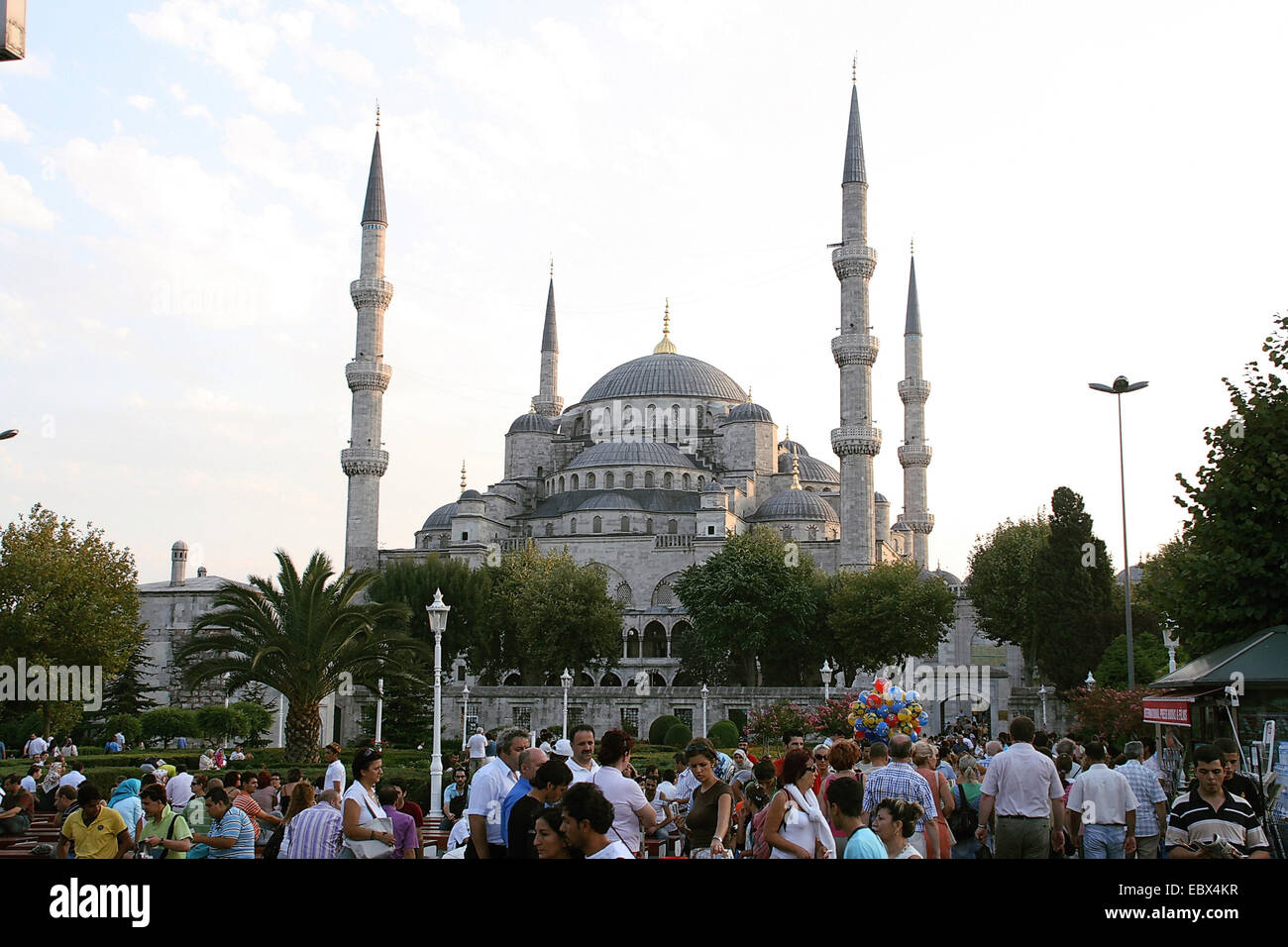 Blue Mosque in Istanbul, Turkey, Istanbul - Stock Image