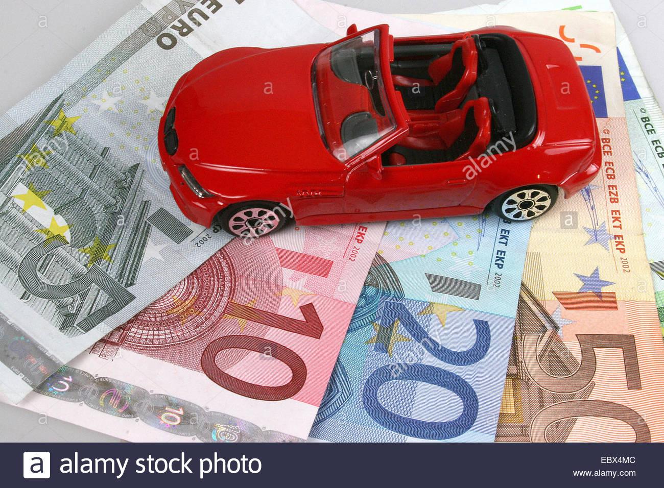 vehicle costs - Stock Image