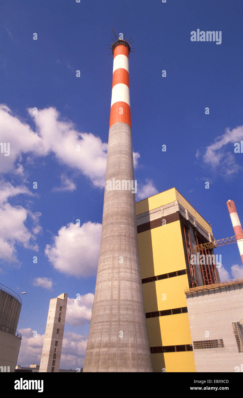 power plant Simmering, Austria, Vienna - Stock Image