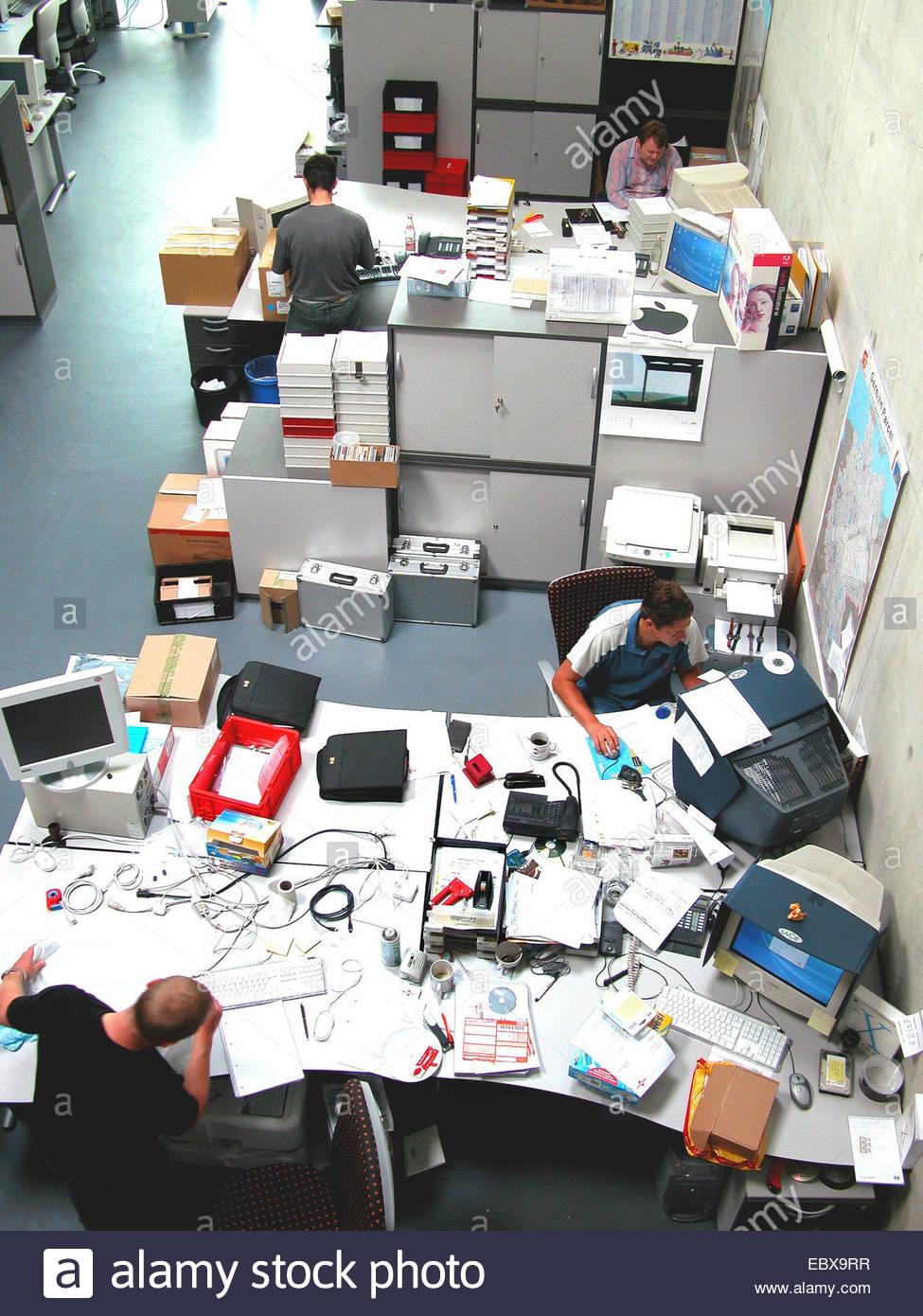 Open-plan office - Stock Image