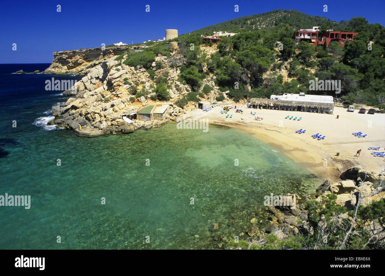 Cala Carbo beach, Spain, Balearen, Ibiza Stock Photo
