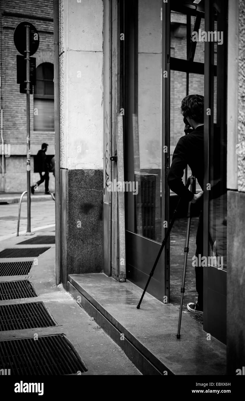 Street photographer - Stock Image