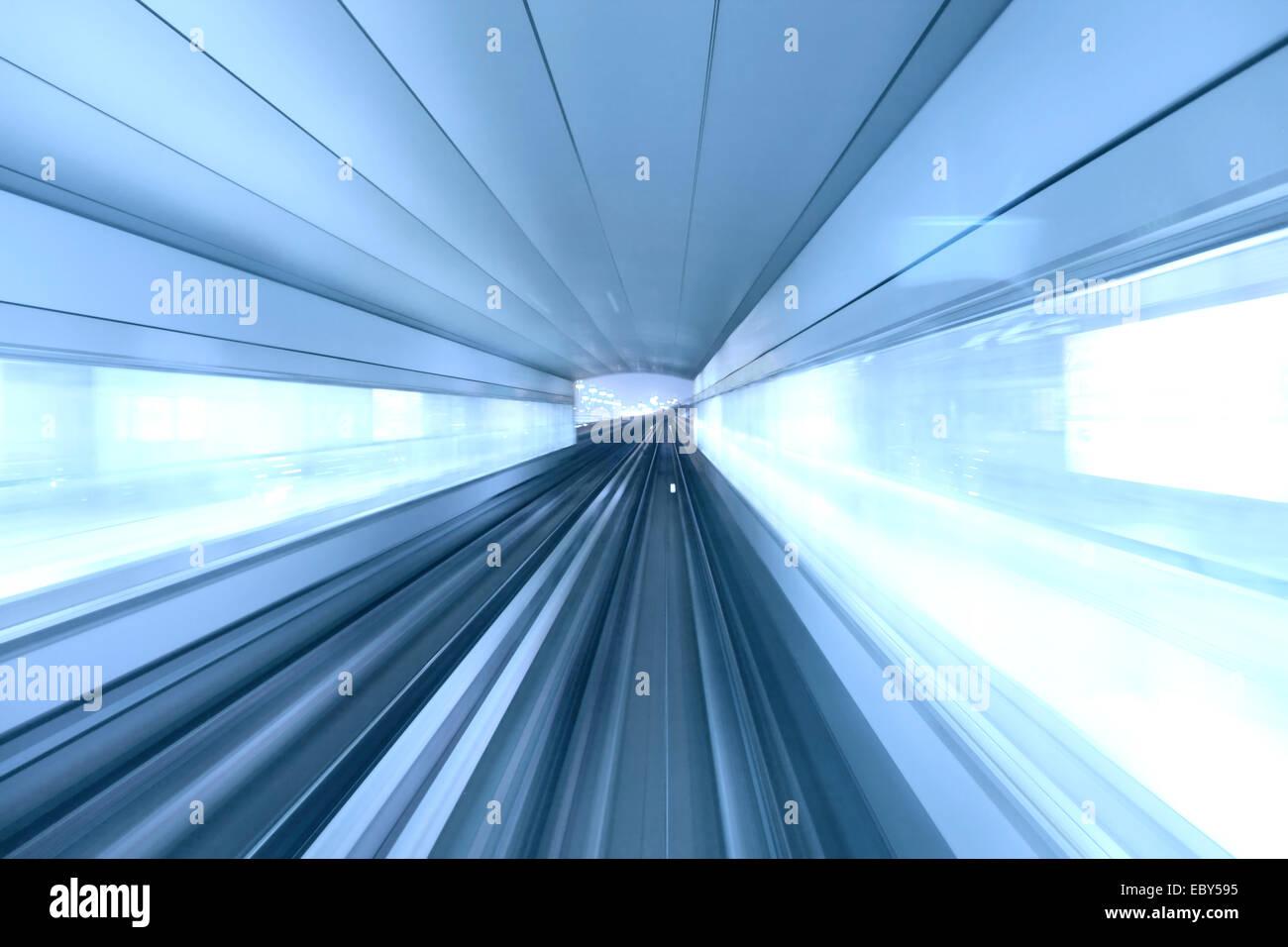 Dubai Metro - Stock Image