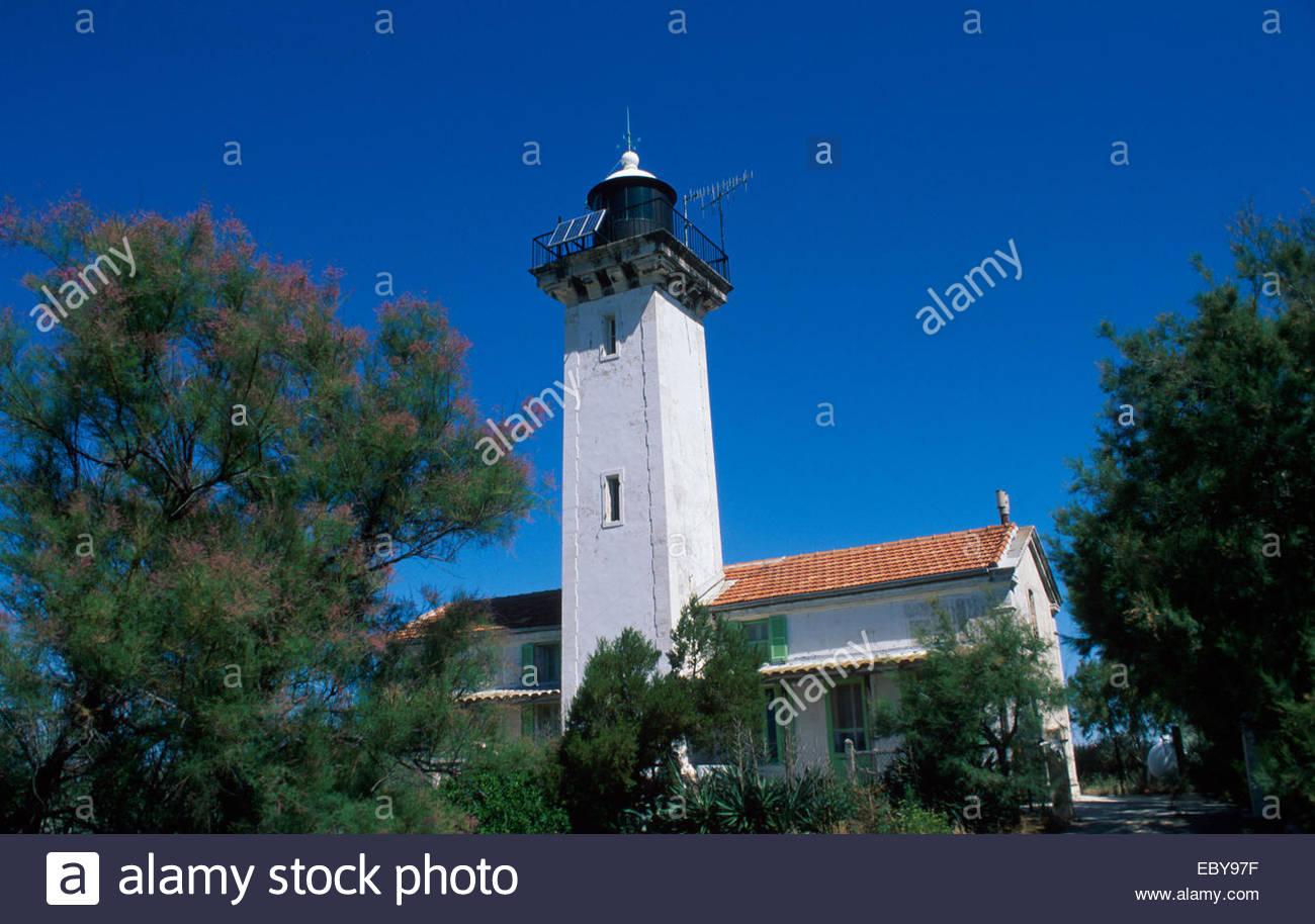 Camargue, Lighthouse of Gachole - Stock Image