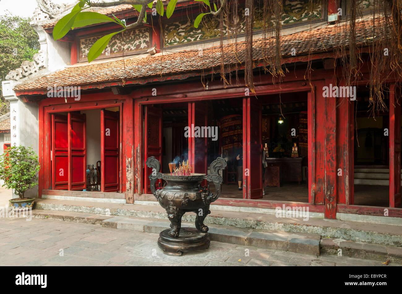 Ngoc Son Temple, Hanoi, Vietnam - Stock Image