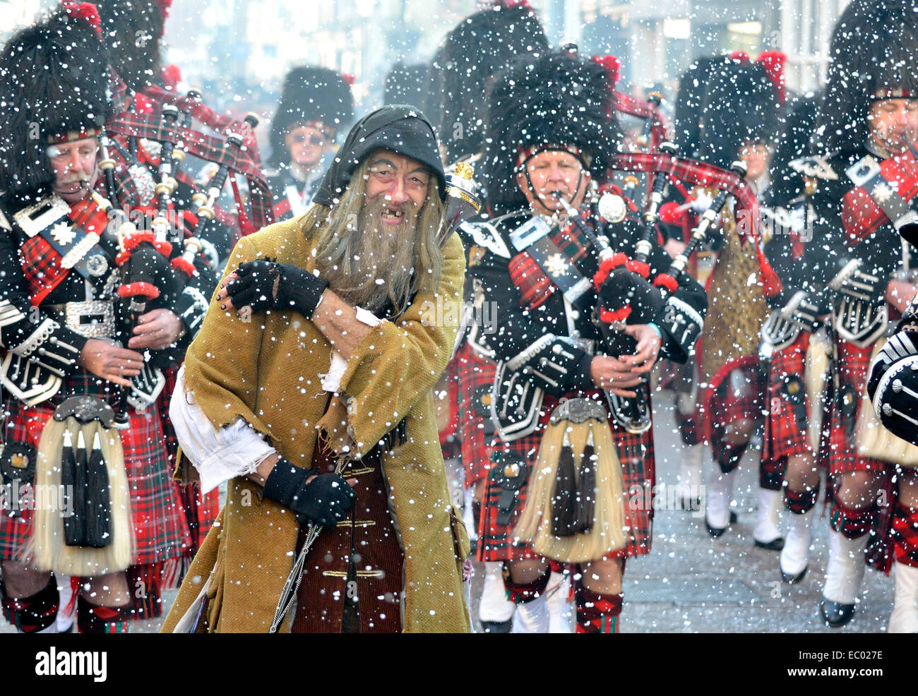 rochester kent uk 06th dec 2014 dickensian christmas festival parade - Dickens Christmas Festival