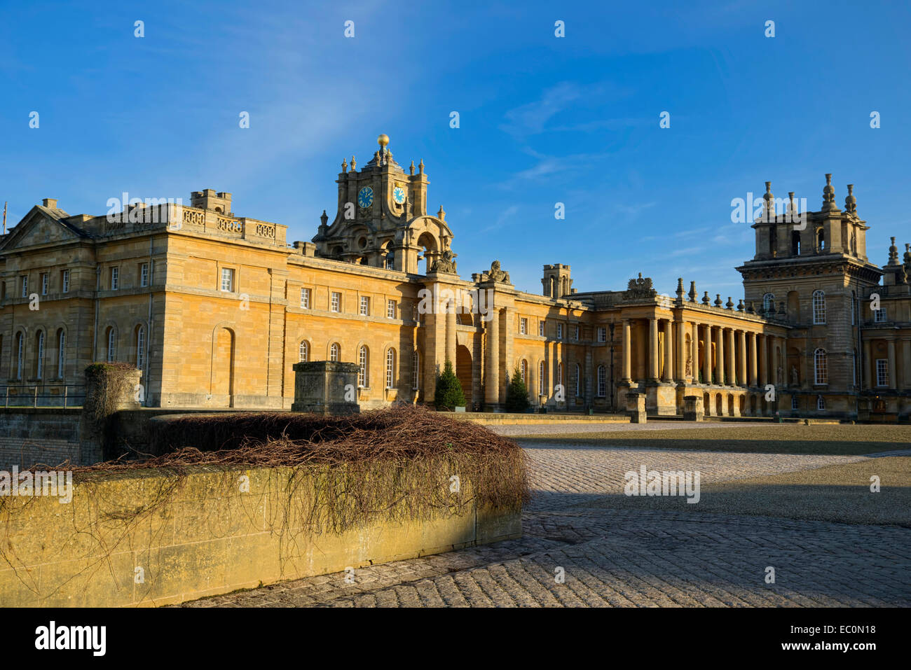 Blenheim Palace Woodstock Oxfordshire England UK - Stock Image