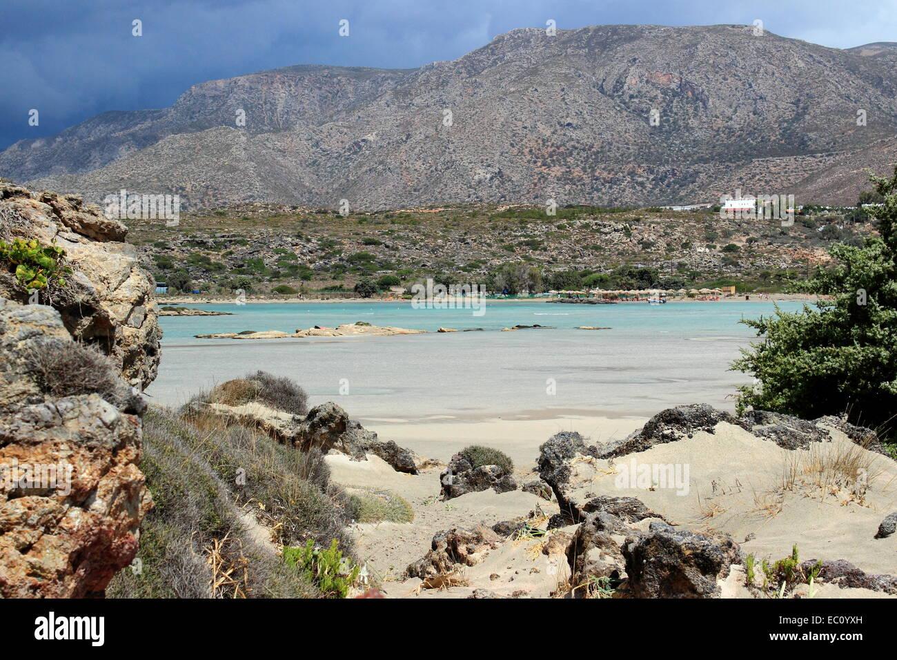 Elafonisi island - Crete,  Greece Stock Photo