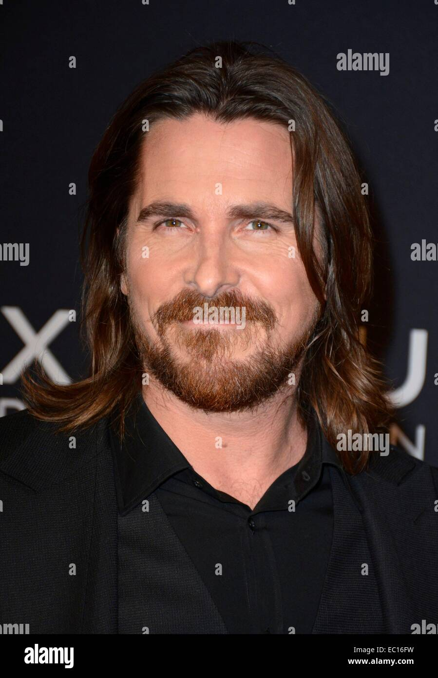 Brooklyn, NY, USA. 7th Dec, 2014. Christian Bale at arrivals for EXODUS: GODS AND KINGS Premiere, The Brooklyn Museum, - Stock Image
