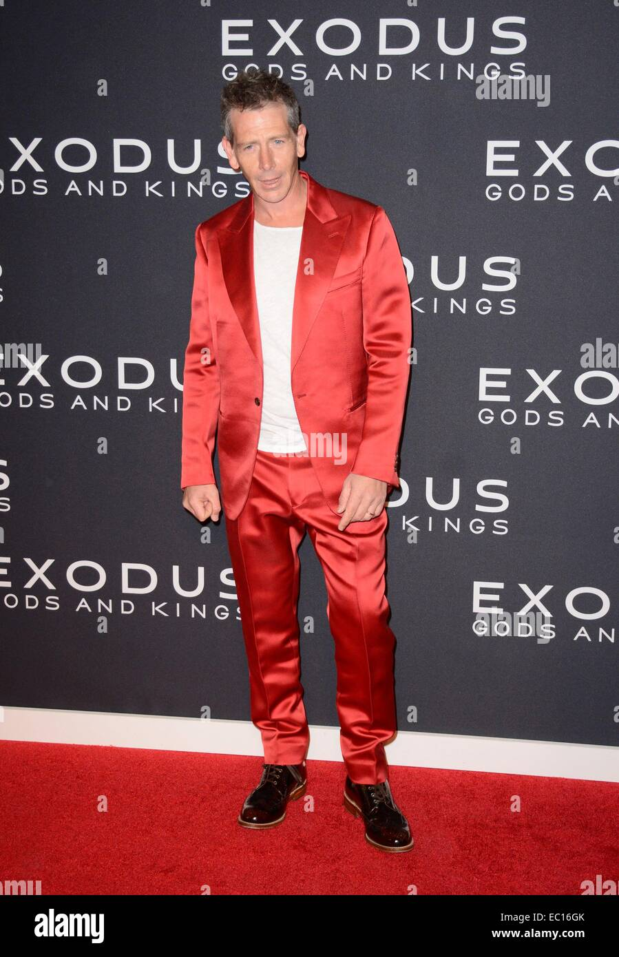 Brooklyn, NY, USA. 7th Dec, 2014. Ben Mendelsohn at arrivals for EXODUS: GODS AND KINGS Premiere, The Brooklyn Museum, - Stock Image