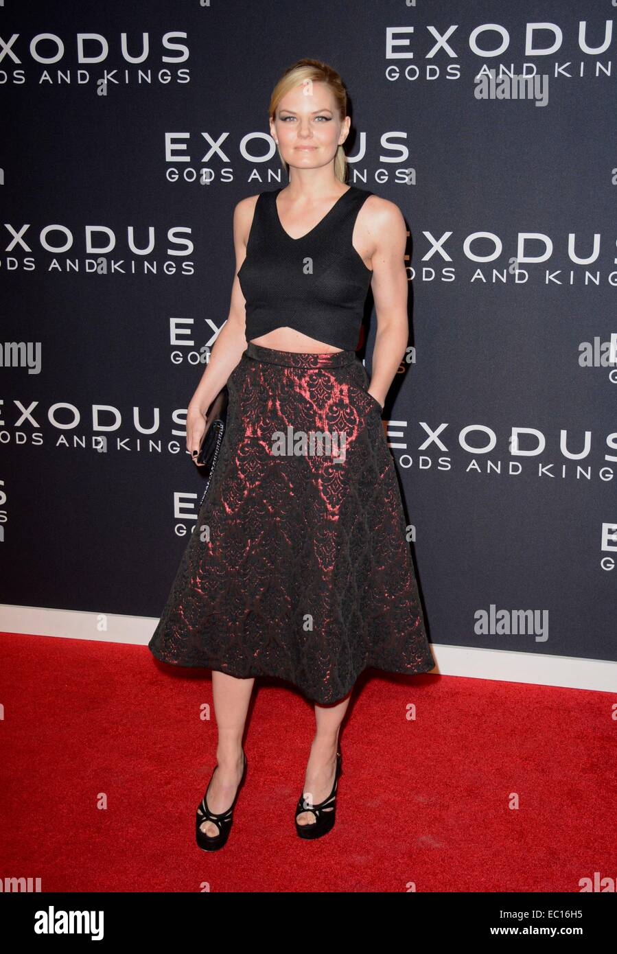 Brooklyn, NY, USA. 7th Dec, 2014. Jennifer Morrison at arrivals for EXODUS: GODS AND KINGS Premiere, The Brooklyn - Stock Image