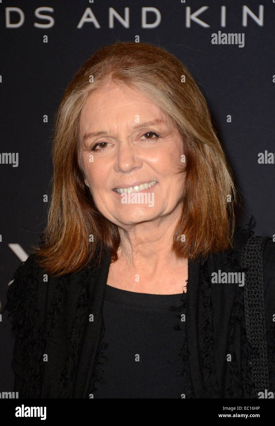 Brooklyn, NY, USA. 7th Dec, 2014. Gloria Steinem at arrivals for EXODUS: GODS AND KINGS Premiere, The Brooklyn Museum, - Stock Image