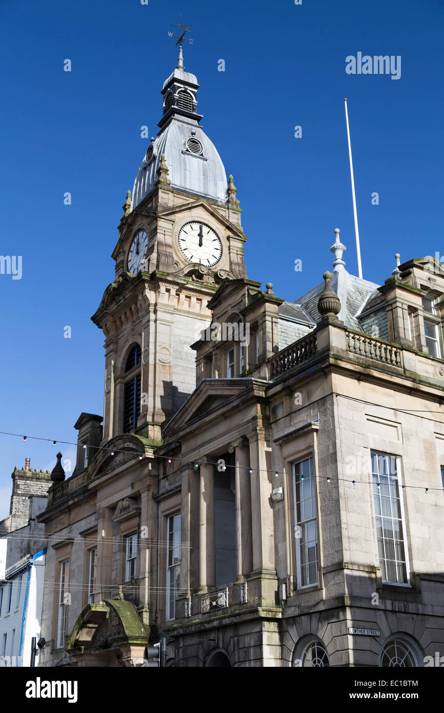 UK, Kendal, the Town hall. - Stock Image