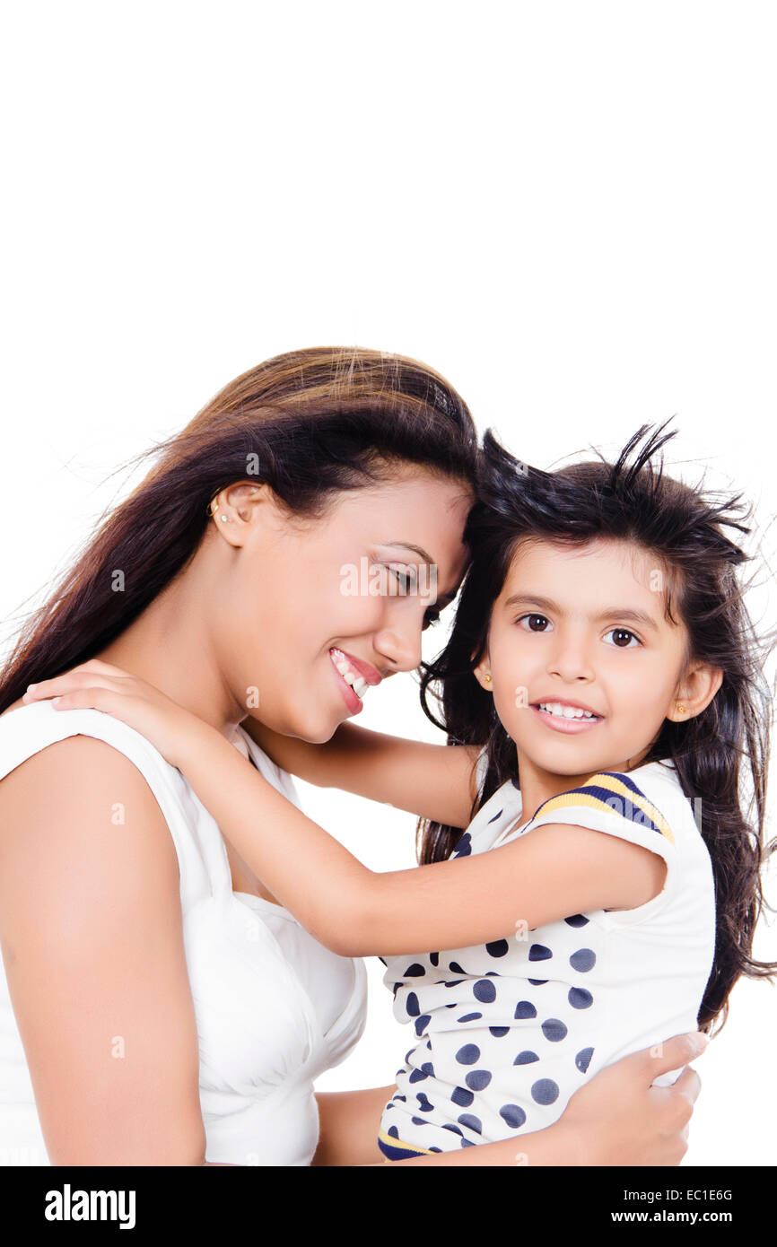 indian Mother Child Care Stock Photo: 76250456 - Alamy