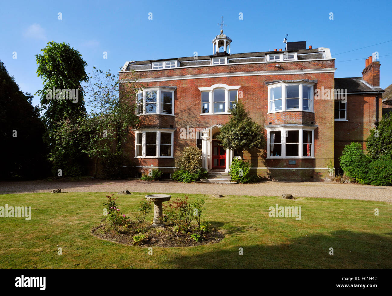 Gad's Hill Place, Higham, above Rochester, Kent, the home of novelist Charles Dickens from 1857 until his death - Stock Image