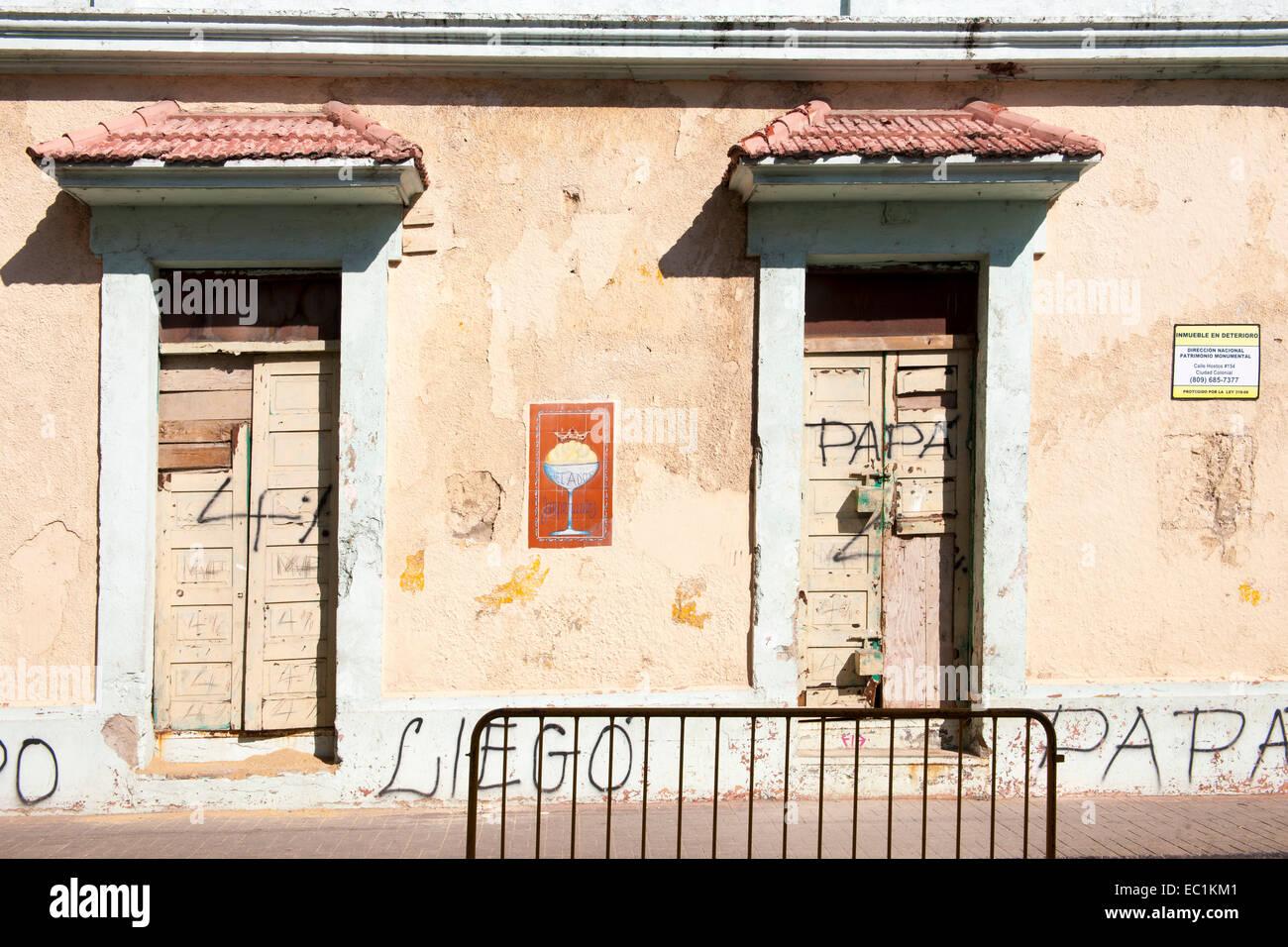 Dominikanische Republik, Santo Domingo, Zona Colonial, - Stock Image