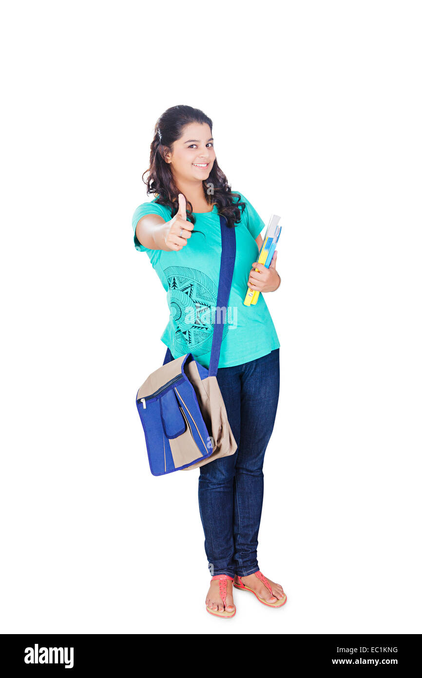 indian college girl student stock photo: 76254796 - alamy