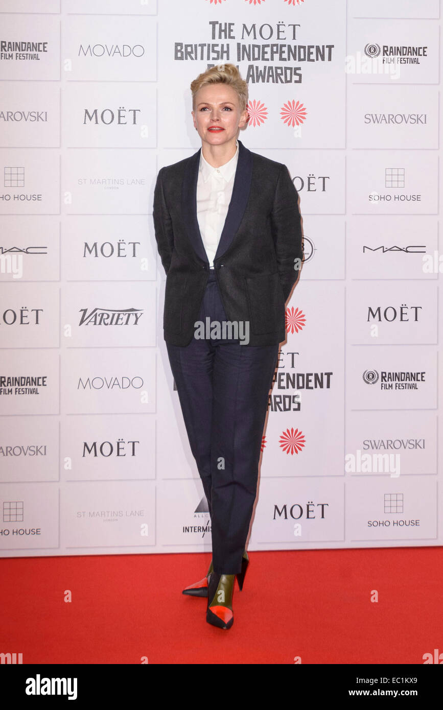 Maxine Peake attends the The 17th Moet British Independant Film Awards on 07/12/2014 at Old Billingsgate Market, - Stock Image