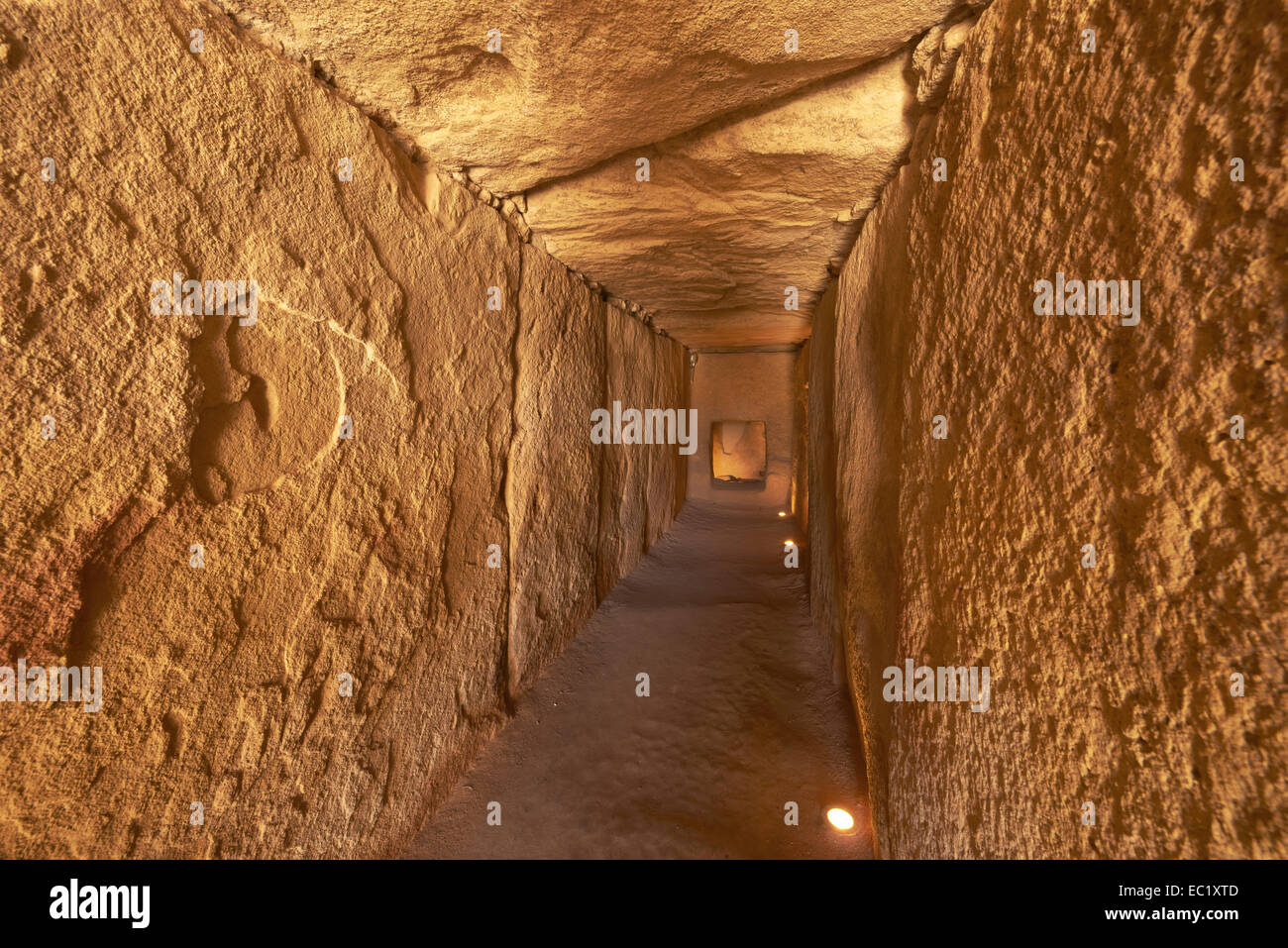 Dolmen of Viera, Viera Megalithic Dolmen, Antequera, Málaga province, Andalusia, Spain, Europe - Stock Image