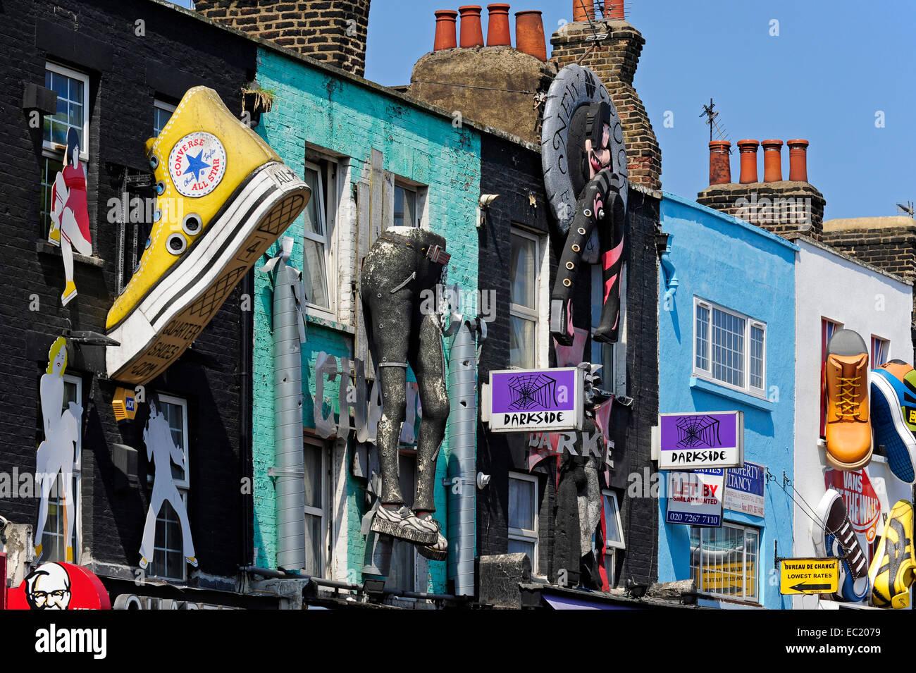 078a370f35 Shop In Camden Town Market Stock Photos   Shop In Camden Town Market ...