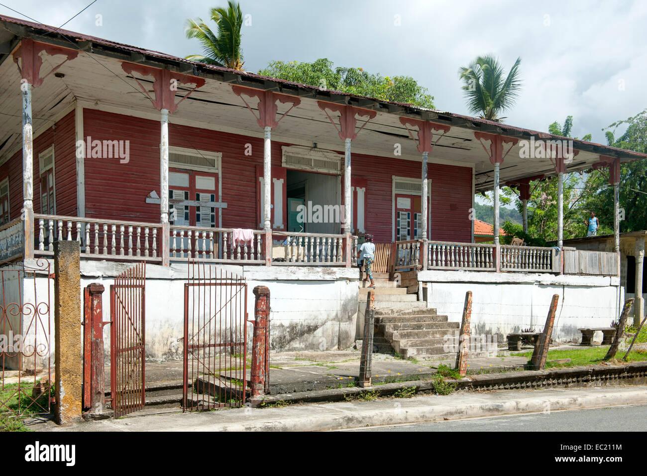 Dominikanische Republik, Halbinsel Samana, Sanchez - Stock Image