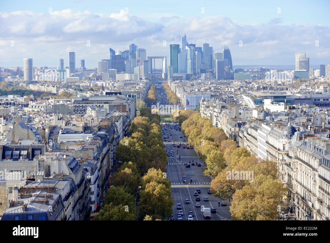 the champs elysees stock photos the champs elysees stock images alamy. Black Bedroom Furniture Sets. Home Design Ideas