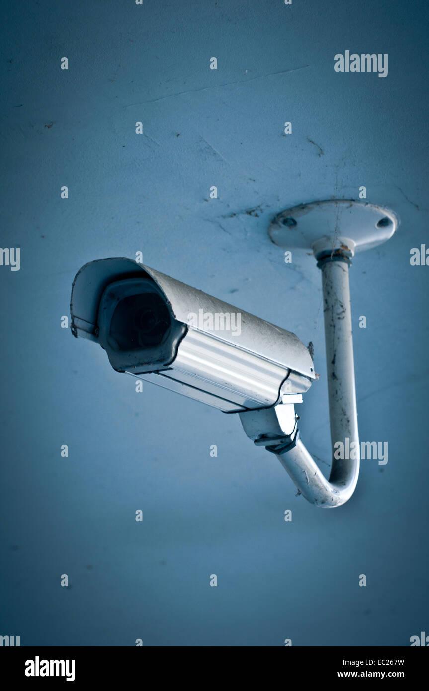 CCTV surveillance camera - Stock Image