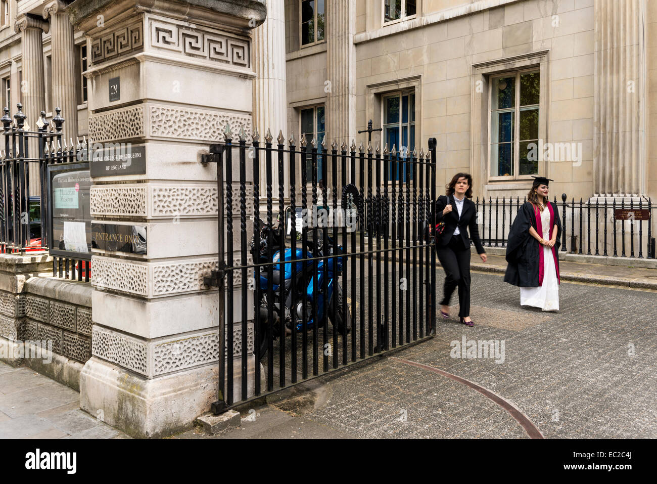 Royal College of Surgeons of London, Lincoln's Inn Fields, London, UK - Stock Image
