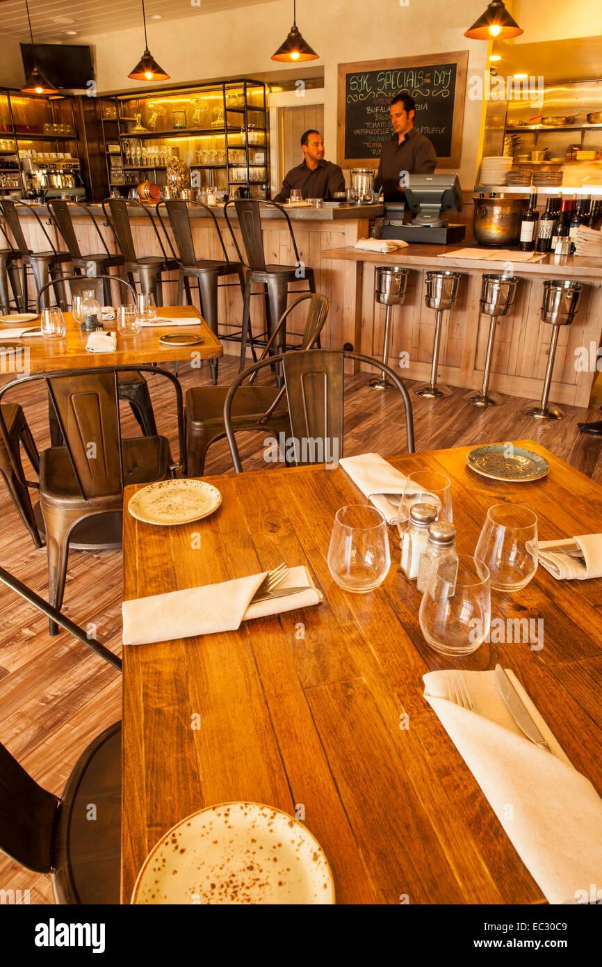 Merveilleux Dining Room And Bar Of S.Y. Kitchen, Santa Ynez, Santa Ynez Valley,  California, United States Of America