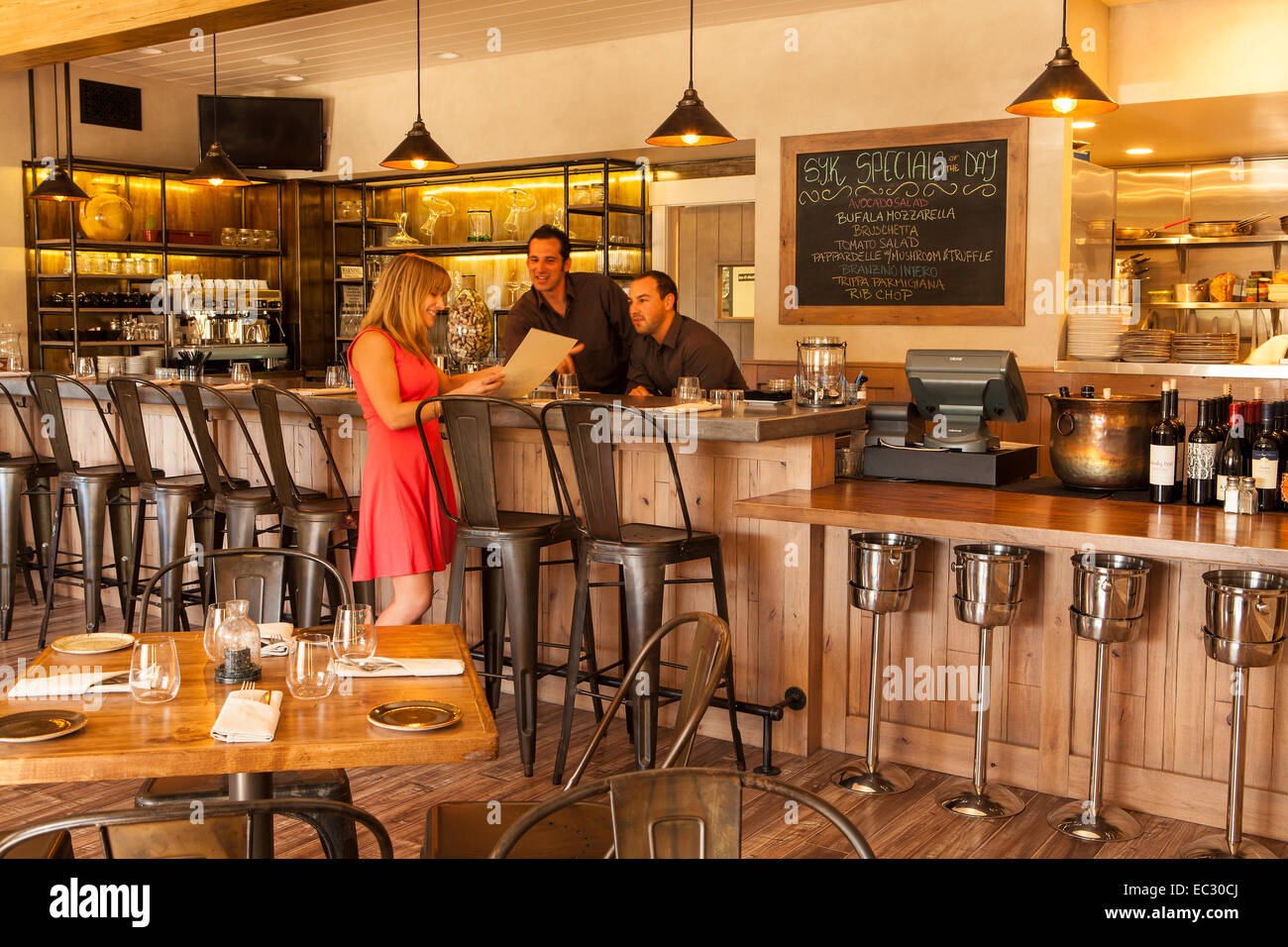 Ordinaire Bar Of S. Y. Kitchen, Santa Ynez, Santa Ynez Valley, California, United  States Of America