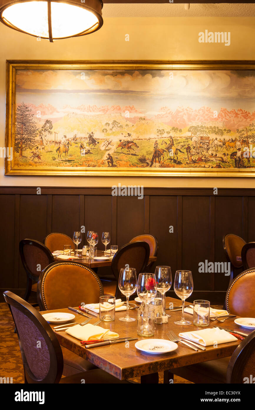 Restaurant decor stock photos