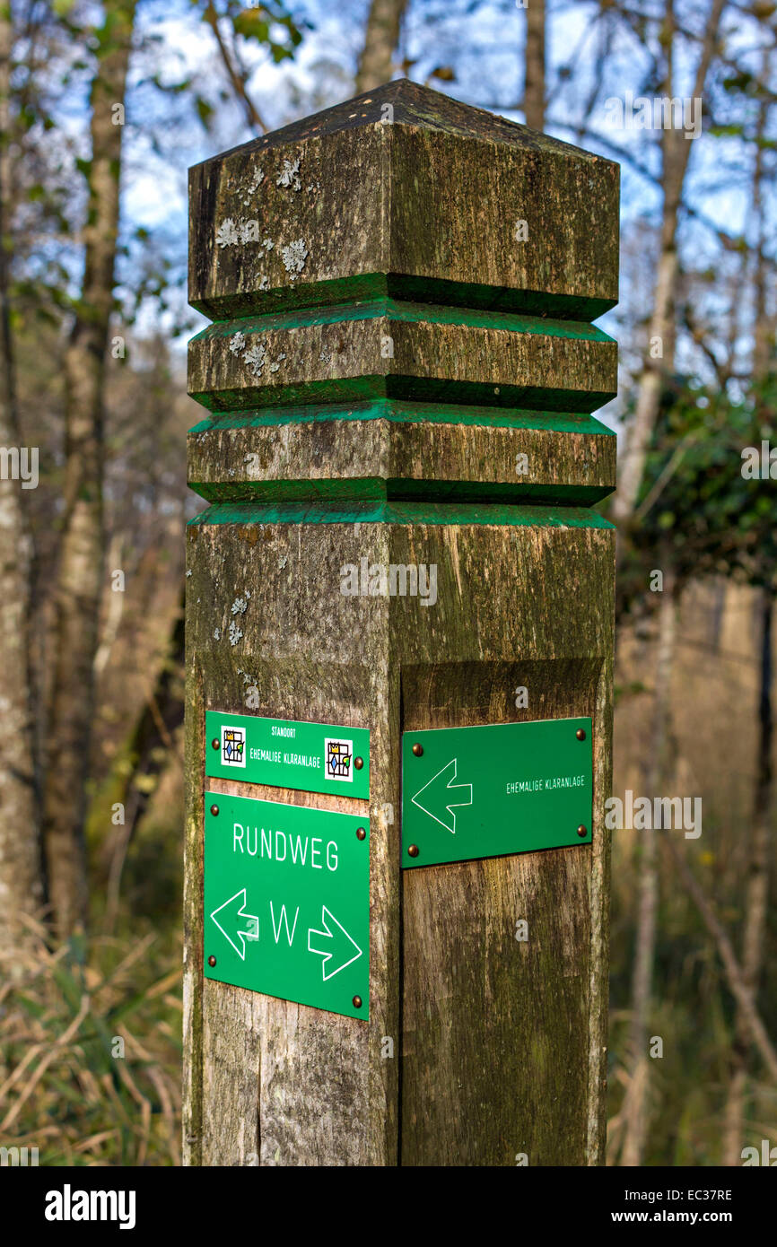 how to make a directional sign post
