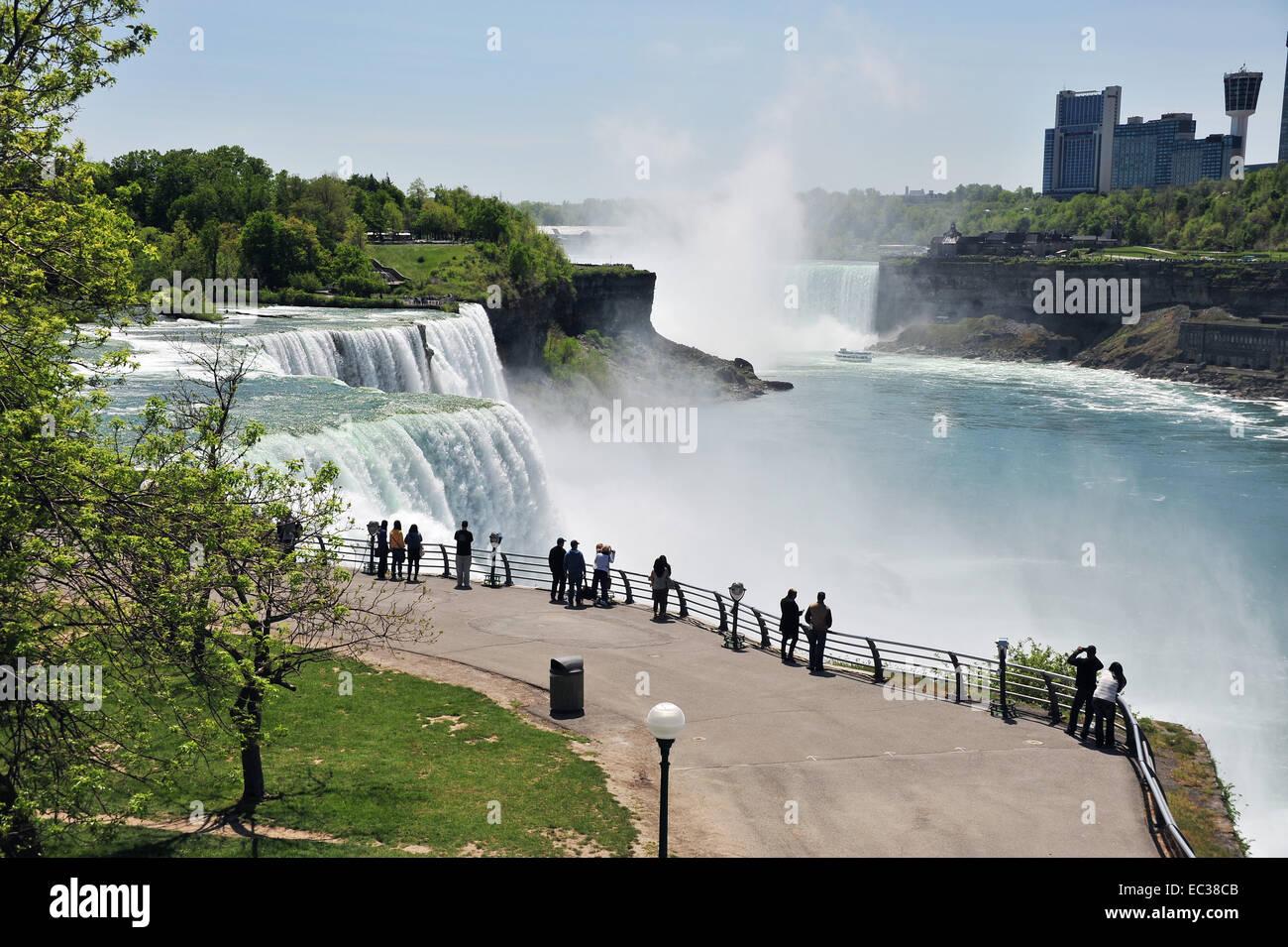 Niagara Falls Niagara Falls On The Border Between The Us