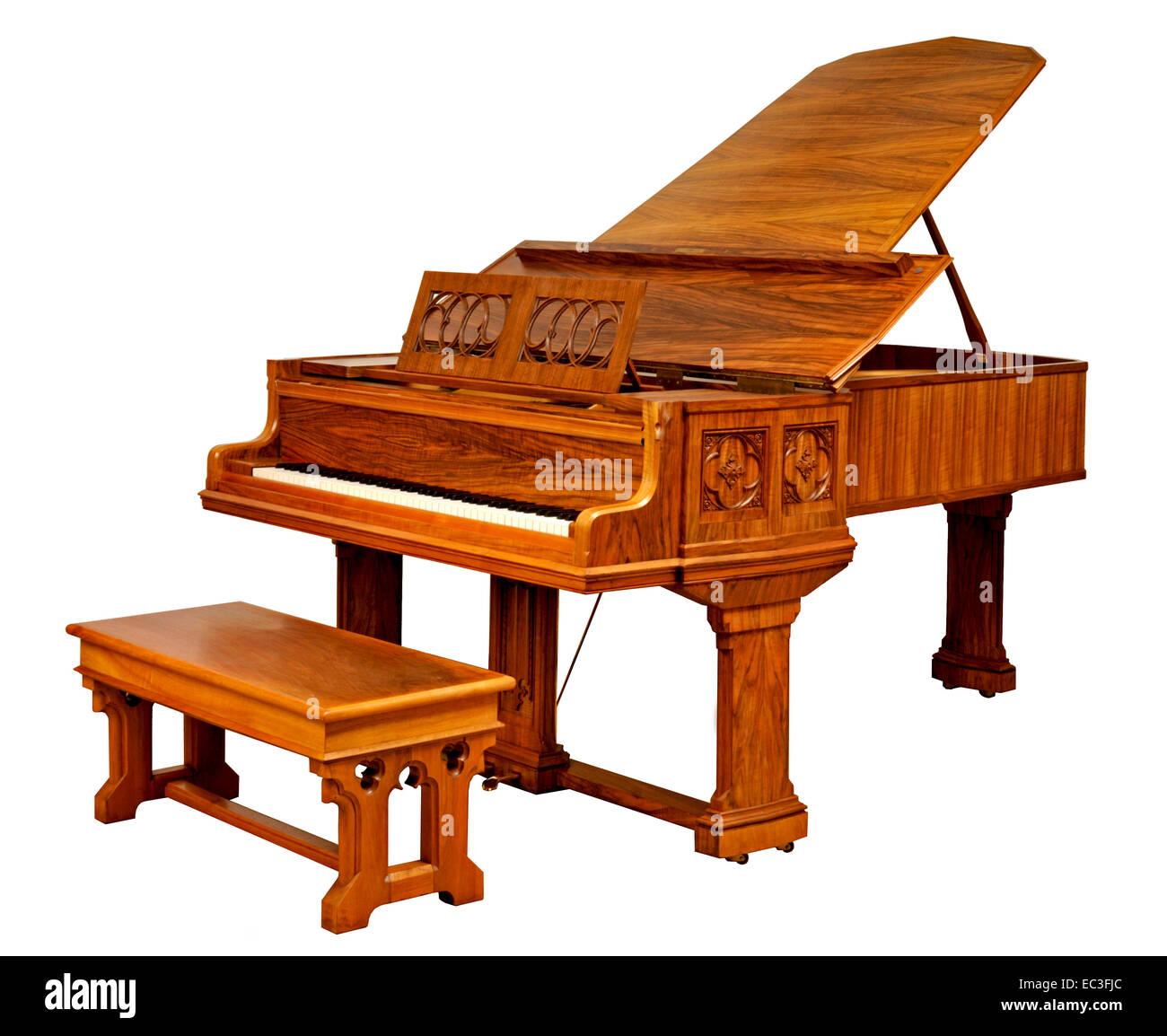 Piano - Stock Image