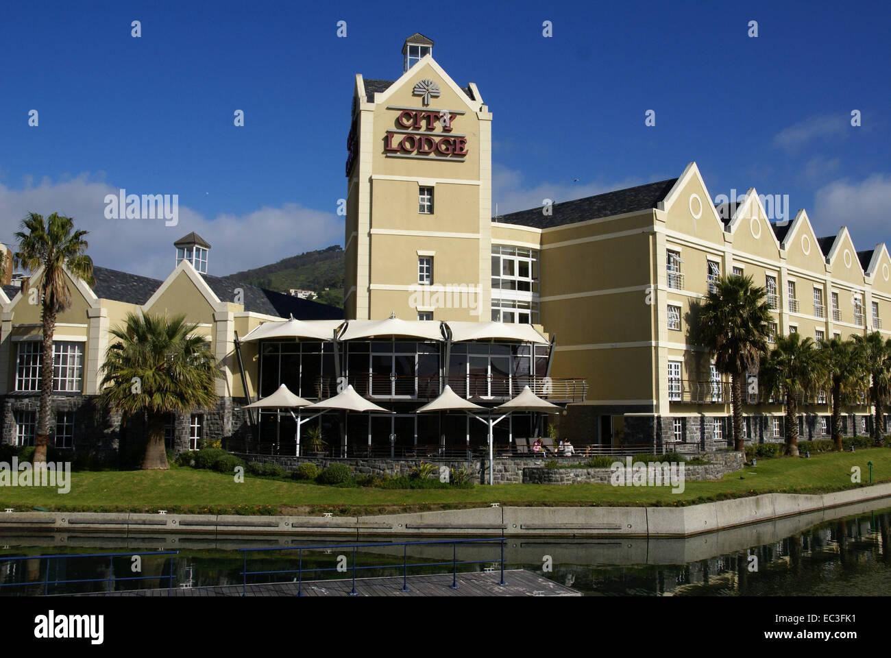 Hotel in Kapstadt, Südafrika - Stock Image