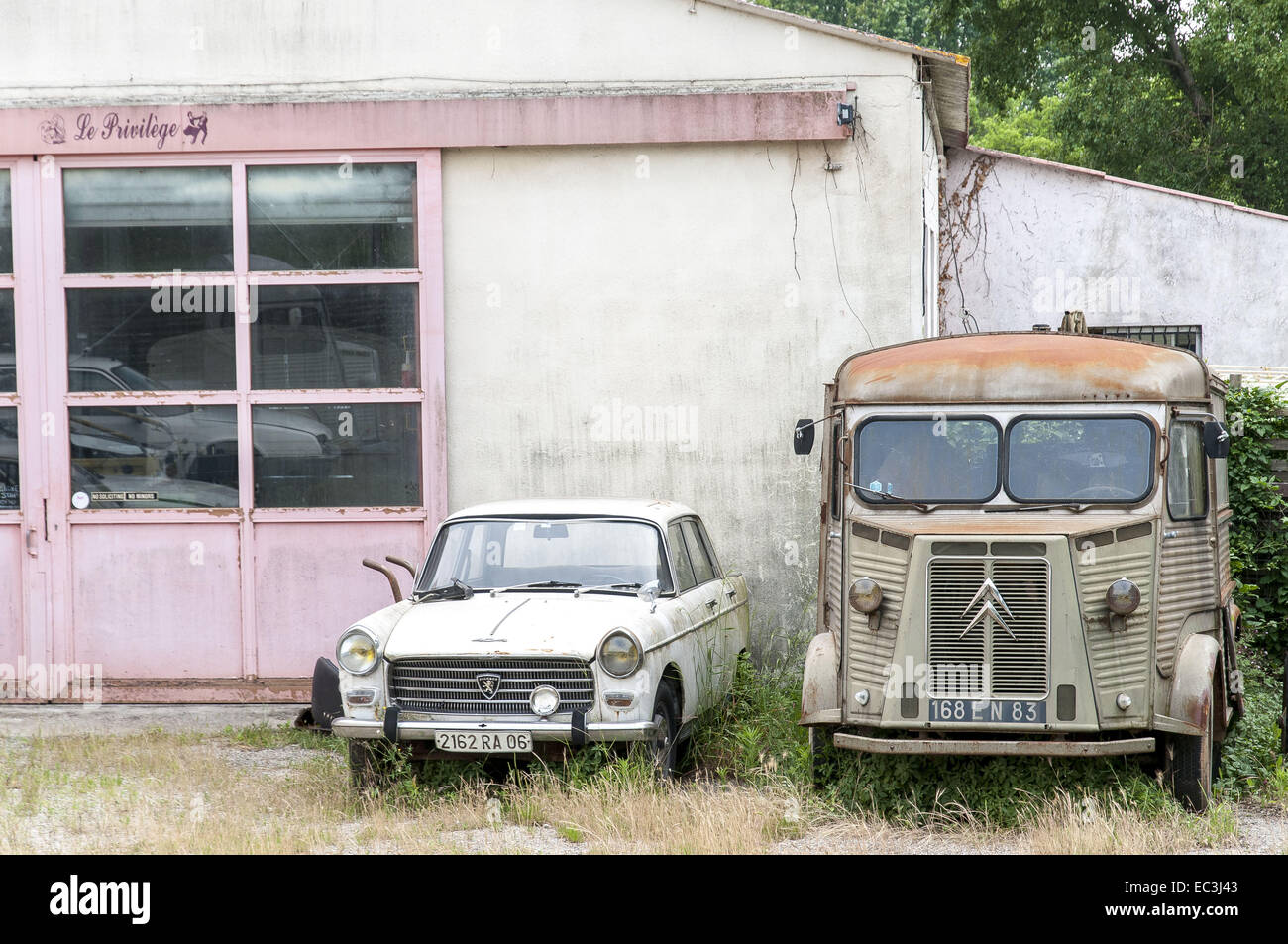 0ld cars - Stock Image