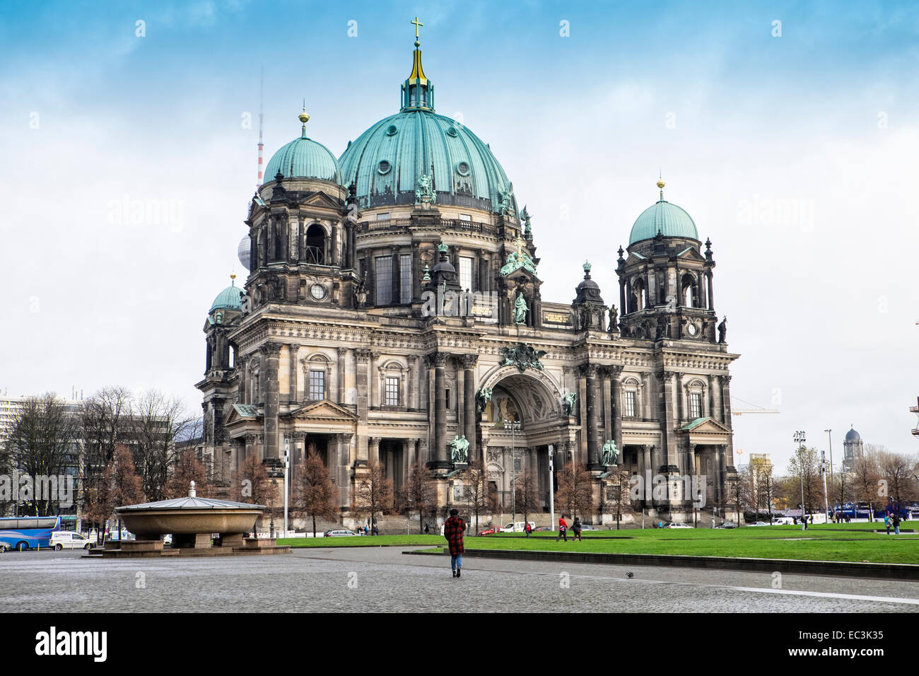 Berlin Cathedral, Berliner Dom, - Stock Image