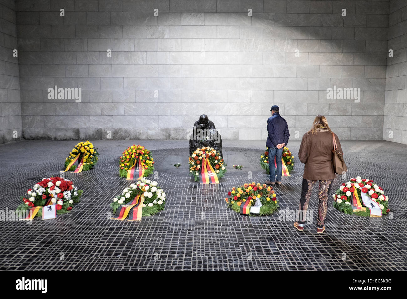 Central Memorial of the Federal Republic of Germany for the Victims of War and Dictatorship on Unter den Linden, - Stock Image