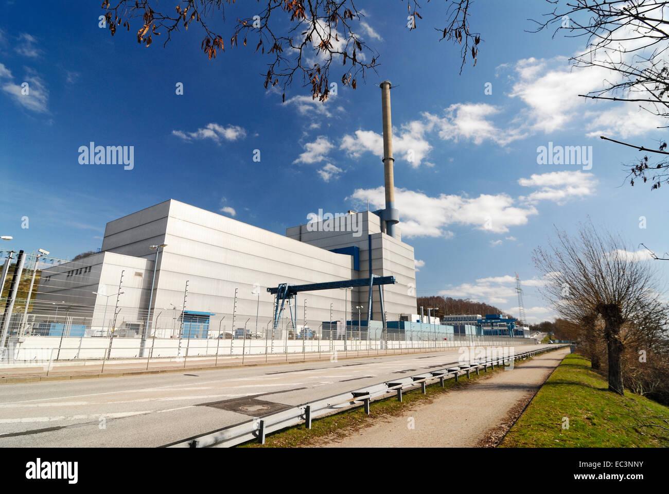 Atomic power plant Kruemmel near Hamburg, Germany - Stock Image